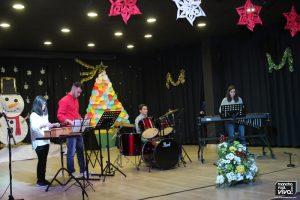 Percusión con el profesor Fernando Fernández