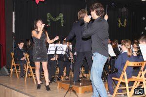 Los hermanos Jose y Aurori Díaz cantando a dúo