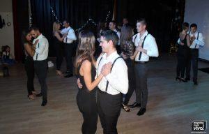 No faltó el  ritmo del baile de salón