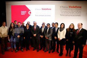 Foto de grupo con los galardonados