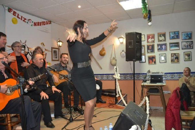Cante, baile y villancicos en la Peña Flamenca EL TRILLO