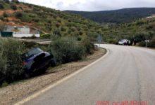 Photo of Accidente por salida de vía de un vehículo en la carretera de Torres