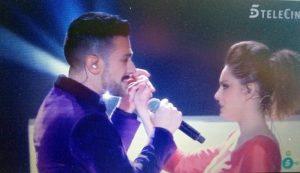 Laura y Antonio en su actuación