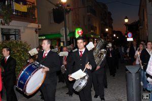 La Tropical Banda con marchas procesionales
