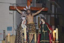 Photo of El Stmo. Cristo de la Misericordia Ntra. Sra. de la Salud y San Juan Evangelista procesionan por nuestras calles