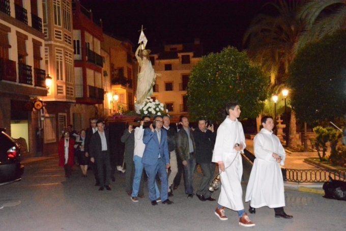 Procesión de Jesús Resucitado (Fotos Elena Martínez)