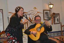 Photo of Vanesa González y Fernando Rodríguez brillan en la Peña Flamenca El Trillo