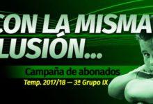 Photo of El At. Mancha Real lanza la campaña de abonados 2017/18 «Con la misma ilusión»