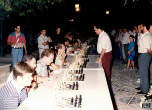 Simultánea de ajedrez en 1994