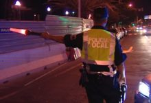 Photo of La Policía Local intercepta un vehículo cuando circulaba en zig-zag con una alta tasa de alcoholemia