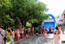 Photo of Diversión con la gymkana de toboganes de agua de Aqualand Mancha Real