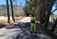 Photo of Cortada al tráfico la carretera que une Mancha Real y Pegalajar