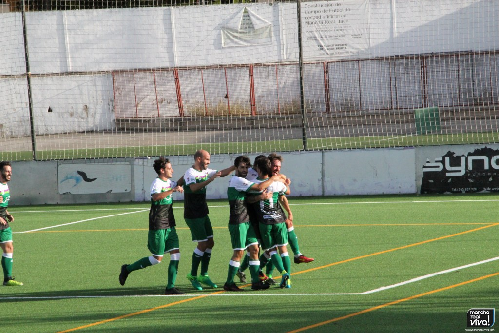 Photo of Victoria del At. Mancha Real ante el Guadix C.F. en la primera jornada de liga, 1-0 -FOTOS