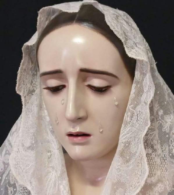 Photo of La Imagen de Ntra. Sra. de los Dolores vuelve a Mancha Real tras su restauración