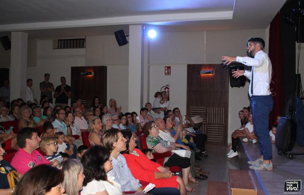 Photo of Pepito «El Caja» comenzó la Feria 2017 con un Pregón monologuista muy divertido