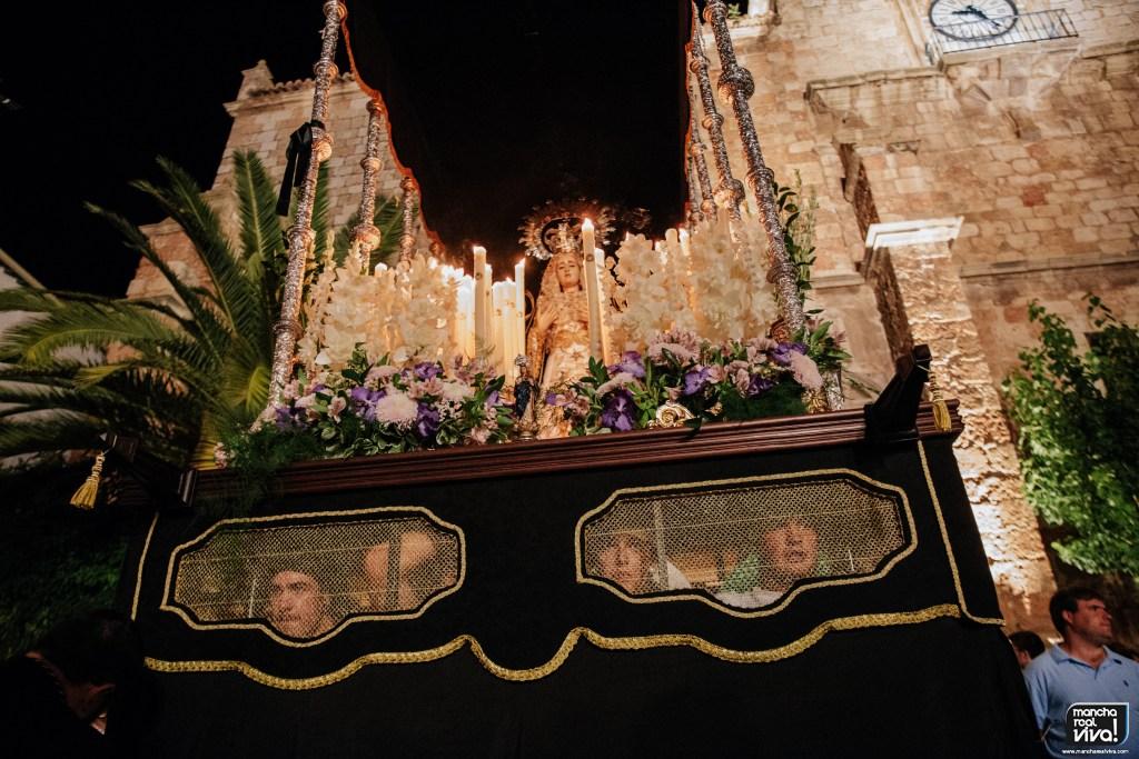Photo of Mucha emoción y devoción en la Procesión de Ntra. Sra. de los Dolores en Mancha Real