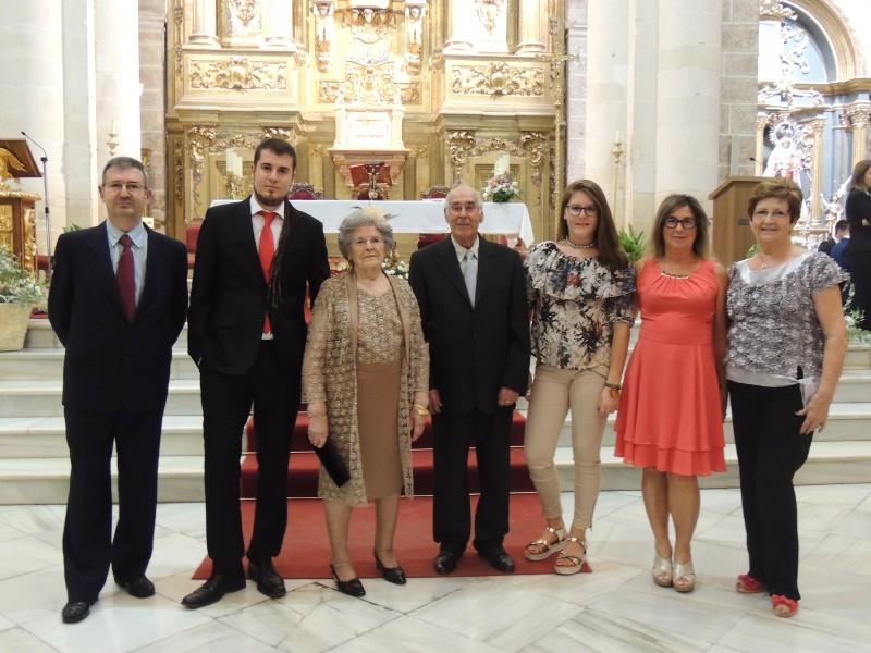 Photo of Celebración de las «Bodas de Diamante» de Antonio y Mª Dolores