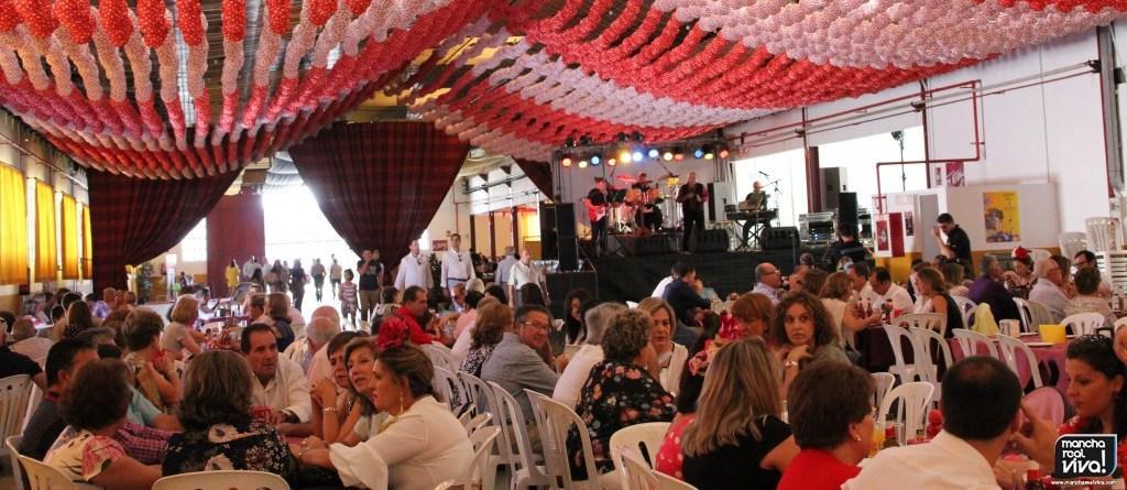 Photo of Feria de Mancha Real 2017 en Imágenes  Baile de día y comida de jubilados
