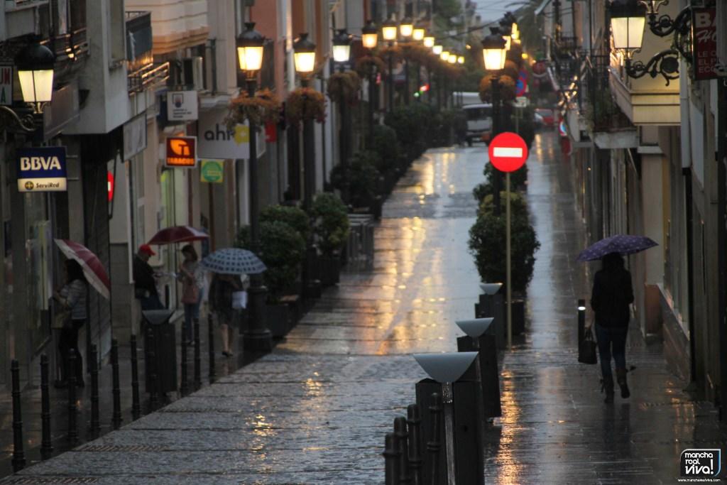 Photo of Vuelven a caer las ansiadas lluvias sobre Mancha Real