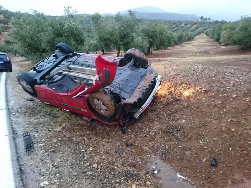 Photo of Accidente de tráfico en la carretera de Mancha Real a Torres