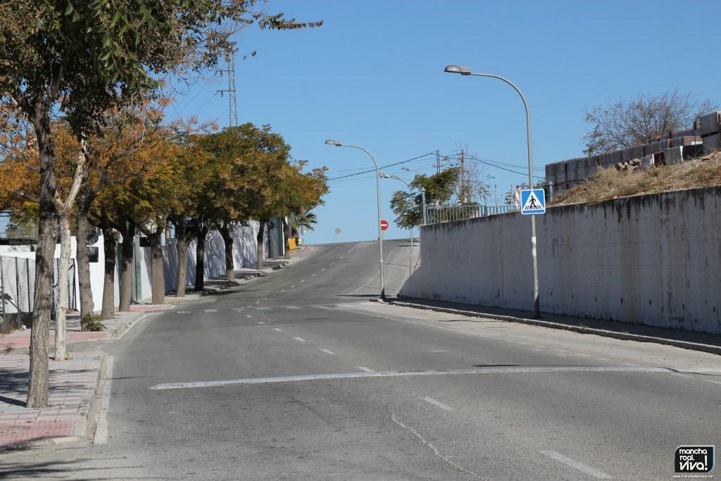 Photo of Corte de la Avenida de Vistalegre de Mancha Real por obras