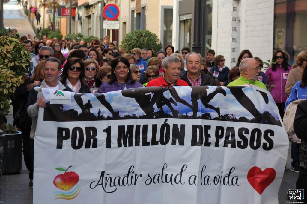 Photo of El Día Mundial de la Obesidad y la Diabetes se celebró en Mancha Real con «Un Millón de Pasos»
