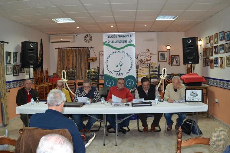 Photo of La Peña Flamenca El Trillo de Mancha Real fue el escenario de la Asamblea Anual de la Federación