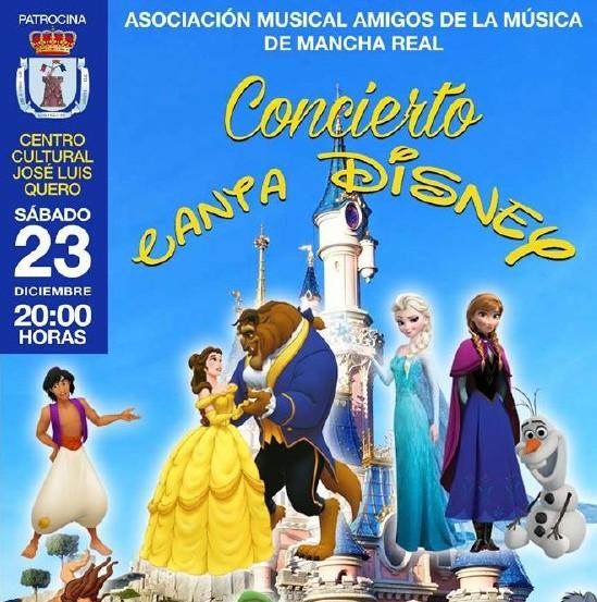 Photo of La A.M. «Amigos de la Música» ofrecerá el Concierto de Navidad 2017 dedicado a Disney