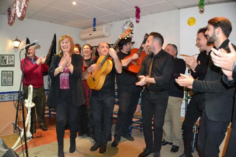 Photo of La Peña Flamenca El Trillo de Mancha Real celebra el comienzo de la Navidad 2017