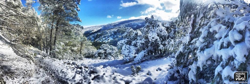 Photo of Muchos visitantes en la sierra para ver de cerca el bonito manto blanco que luce