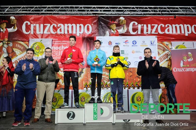 Photo of Gran triunfo del mancharrealeño Juan Moreno en Infantil, en la Carrera de San Antón 2018