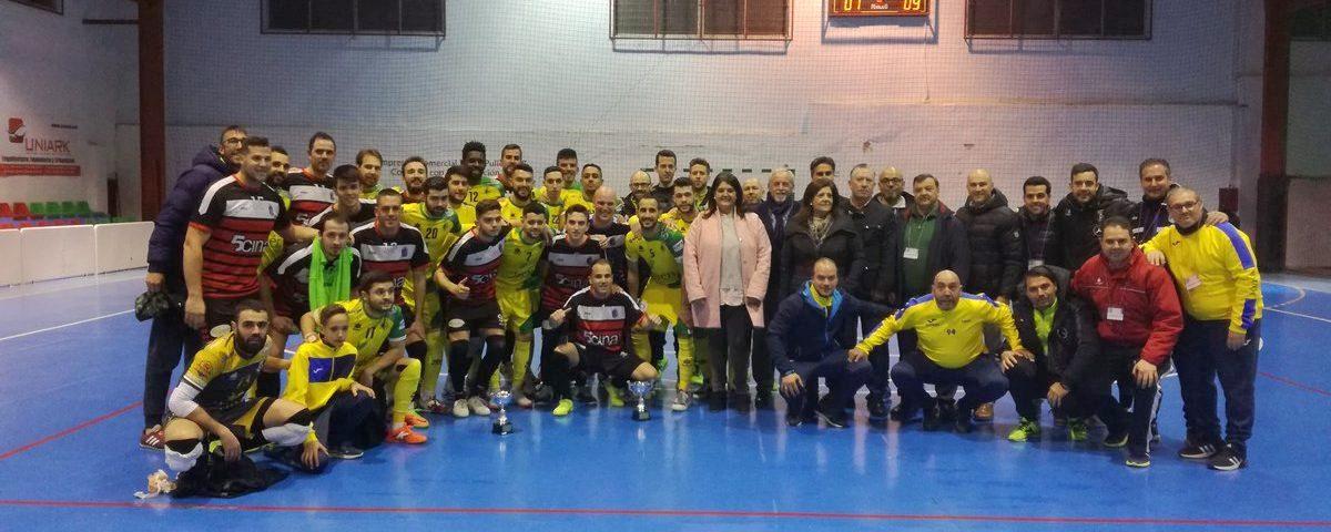 Photo of Más de 500 aficionados se congregan en el partido del 25 aniversario del 5cina Mancha Real F.S.