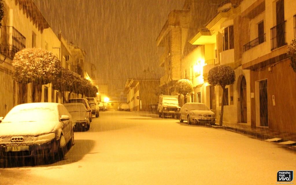 Photo of La nieve viste de blanco a Mancha Real y su sierra