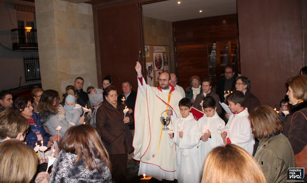 Photo of Las Parroquias de San Juan Evangelista y la Encarnación celebran la Fiesta de la Candelaria