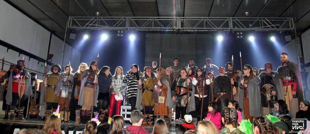 Photo of La Reina del hielo, Cereales y los Vikingos se alzan con los primeros premios del Carnaval 2018