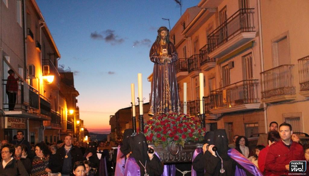 Photo of La Encarnación celebró su Vía Crucis Penitencial de Jesús del Perdón y el Señor de la Humildad