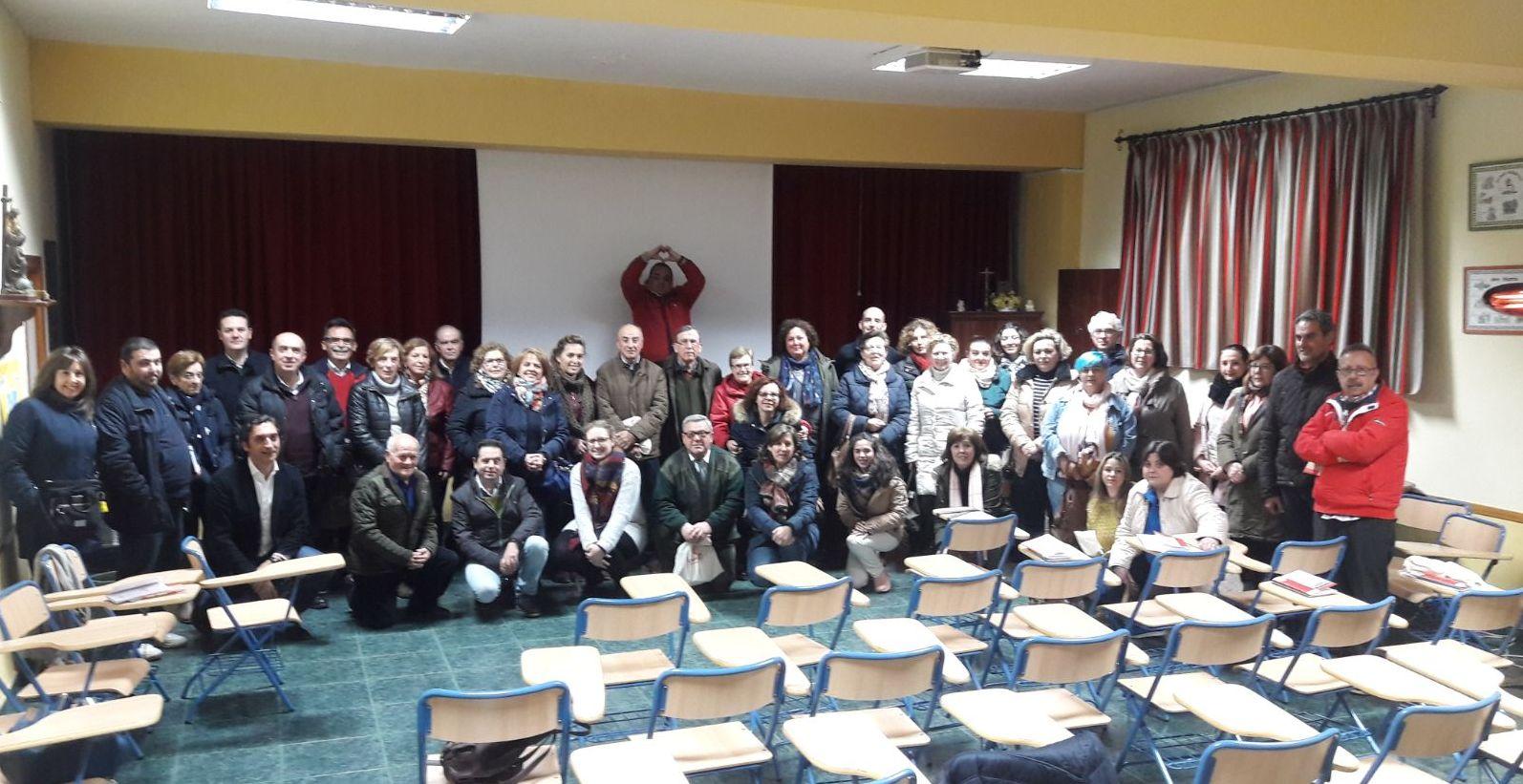 Photo of Mancha Real acogió el Curso Básico de voluntarios de Cáritas Parroquiales