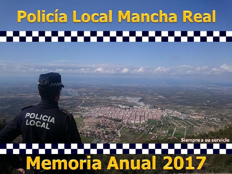 Photo of La Policía Local de Mancha Real, presenta la Memoria Anual de intervenciones 2017
