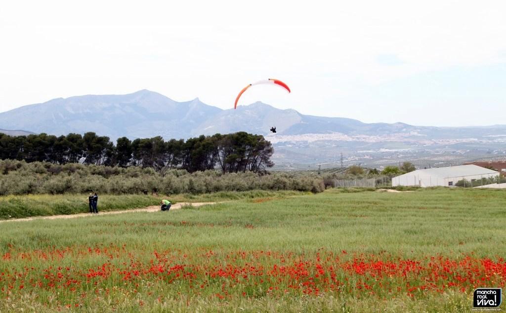 Photo of Decenas de parapentistas sobrevuelan el cielo de Mancha Real compitiendo por el Campeonato de España