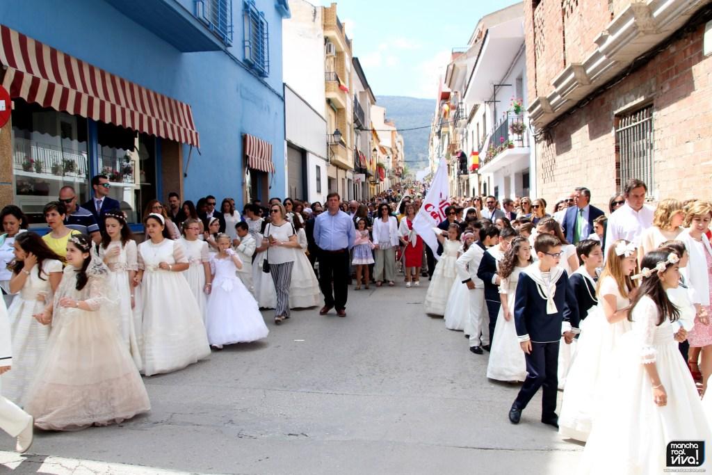 Photo of El Corpus Christi llena de luz y color las calles de Mancha Real – 2ª Parte