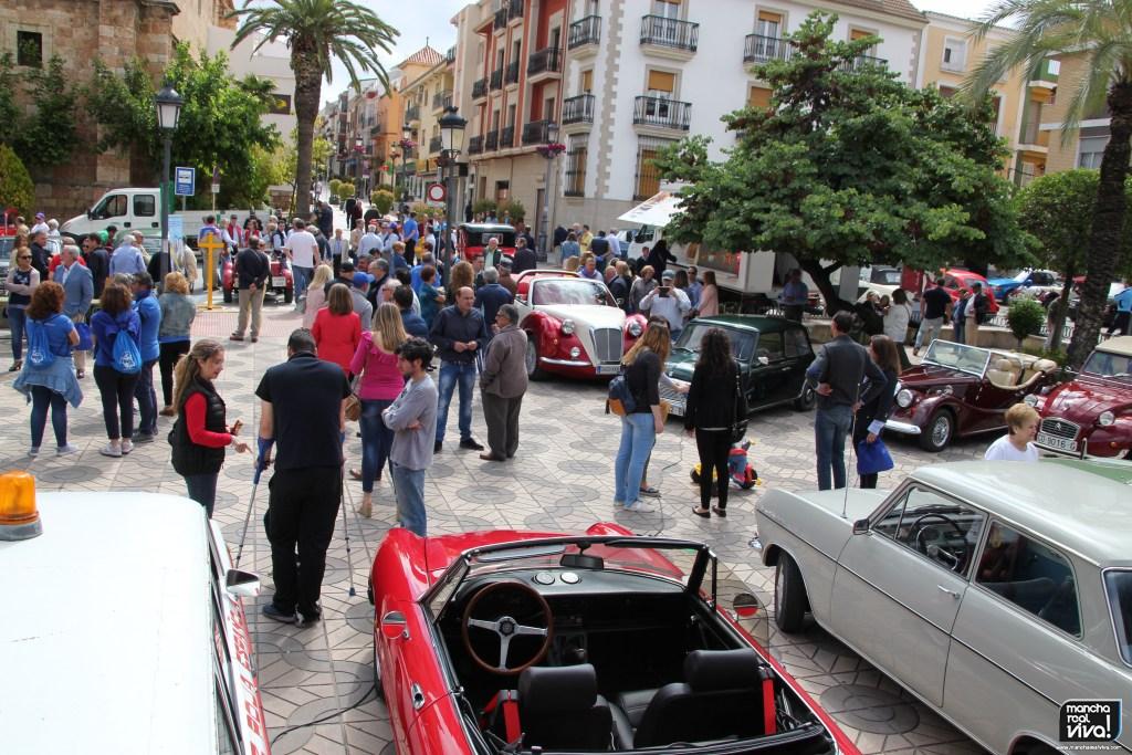 Photo of Mucha participación y buena organización en el II Encuentro de Coches Clásicos de Mancha Real