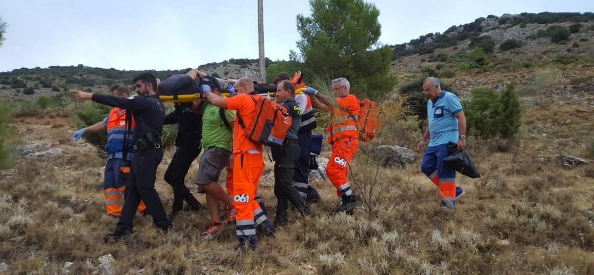 Photo of Accidente en la sierra con la caída al vacío de un parapentista