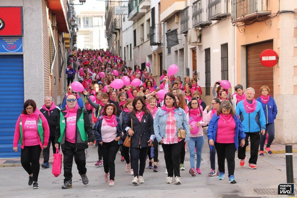 Photo of Las calles de Mancha Real se tiñen de rosa en el Día Mundial contra el Cáncer de Mama