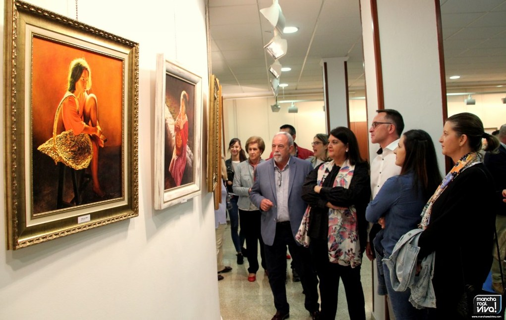Photo of Se inaugura la exposición de pintura de David Planet con obras de gran belleza