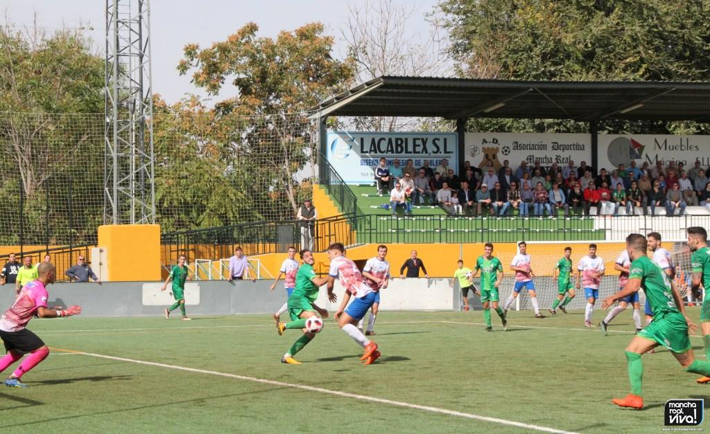 Photo of Un At. Mancha Real sin suerte para el gol, cae derrotado en la Juventud por el Loja CD