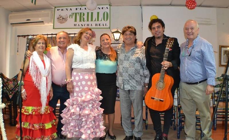 Photo of Actuación flamenca en el TRILLO con un gran ambiente de feria