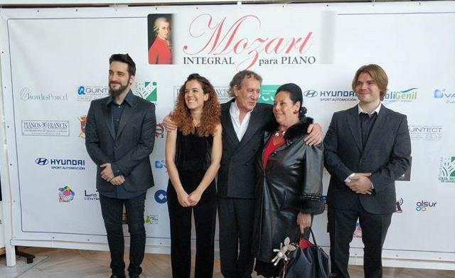 Photo of El joven director mancharrealeño B. Daniel Martínez, participa en el Concierto de Piano de Mozart