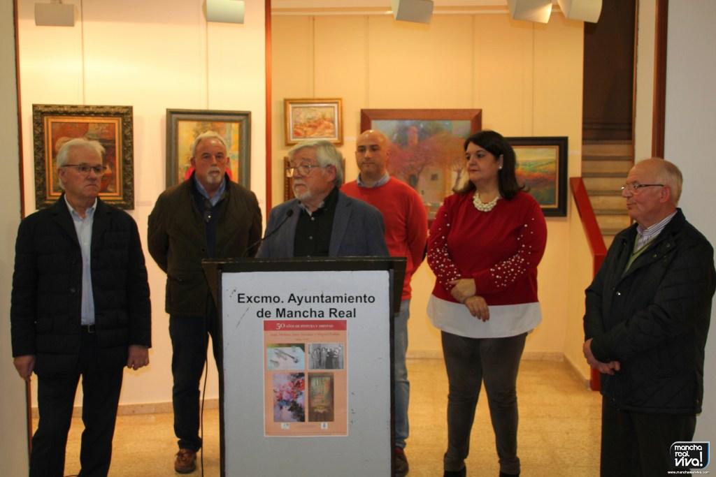 Photo of Tres maestros vuelven a exponer después de «50 años de pintura y amistad»