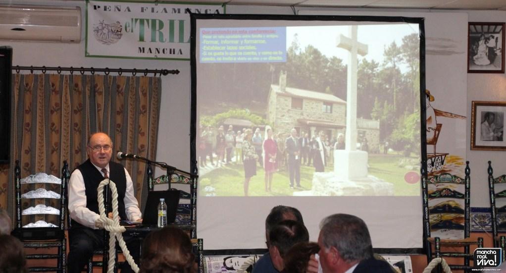Photo of Brillante el mancharrealeño José Cobo en su conferencia sobre «La Sevilla de Ayer y de Hoy»