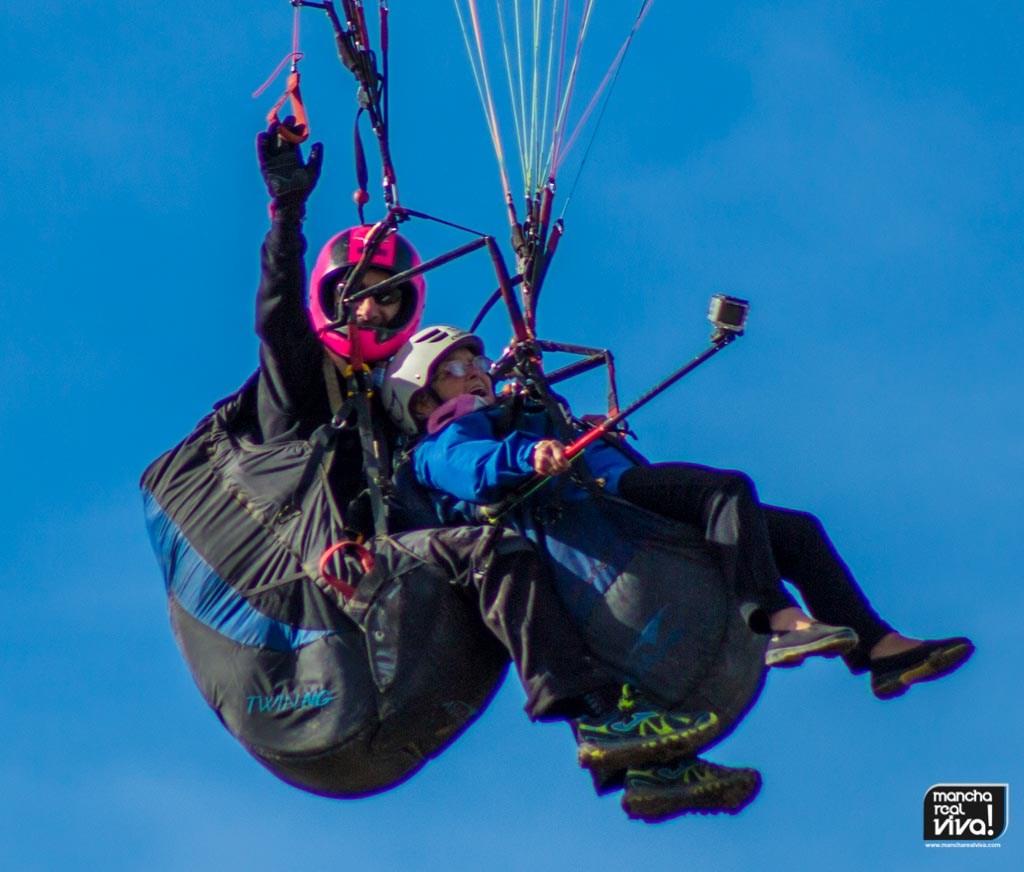 Photo of Recordamos el día que Rosario con 88 años cumplió un sueño y voló en parapente